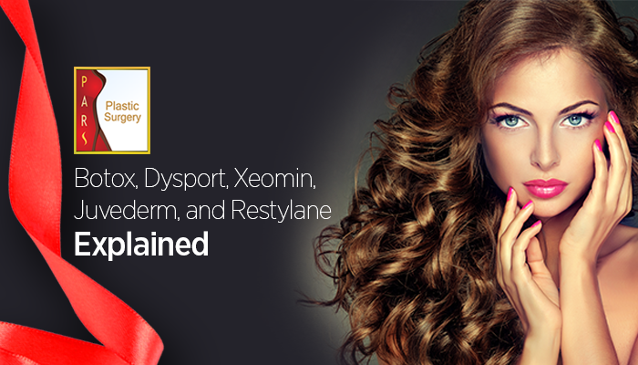 Botox, Dysport, Xeomin, Juvederm, and Restylane Explained.